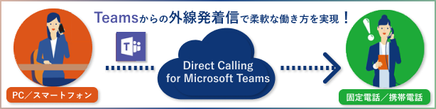 Direct Calling for Microsoft Teams